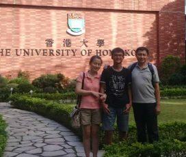 靠學測成績申請國外大學  領獎學金前進港大