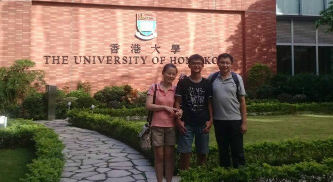 靠學測成績申請國外大學 不畏全英文授課前進港大