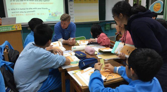 國中全英語課程 學生不但「玩瘋了」還考出好成績
