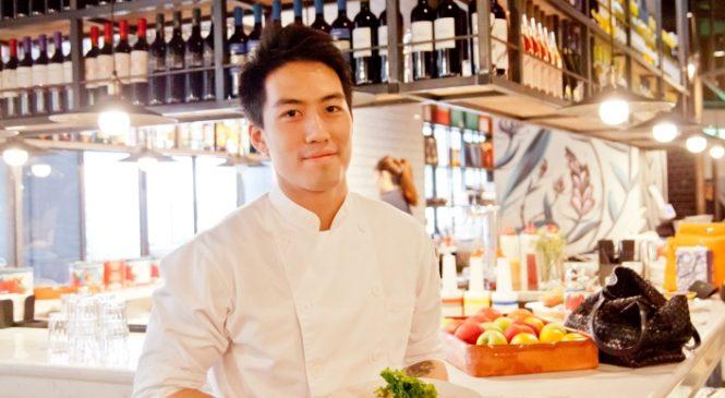 25歲型男主廚練廚藝學英文 從侯布雄到Jamie Oliver在台餐廳的料理之路
