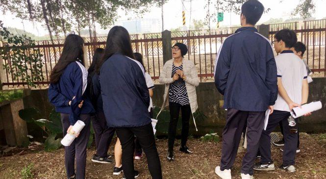 英文結合歷史地理 高中讓學生愛上「英語導覽課」