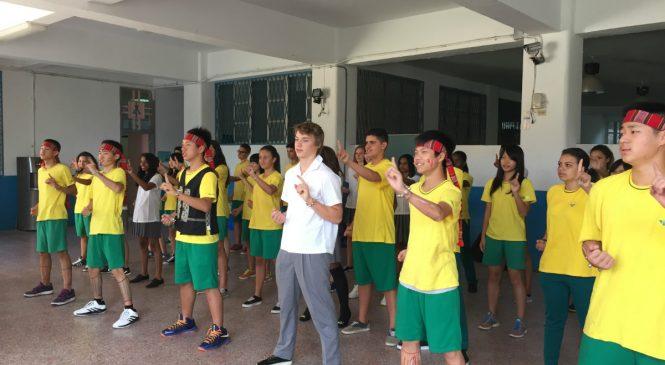 永春高中英法實驗課 一次習得語言、文化、國際觀