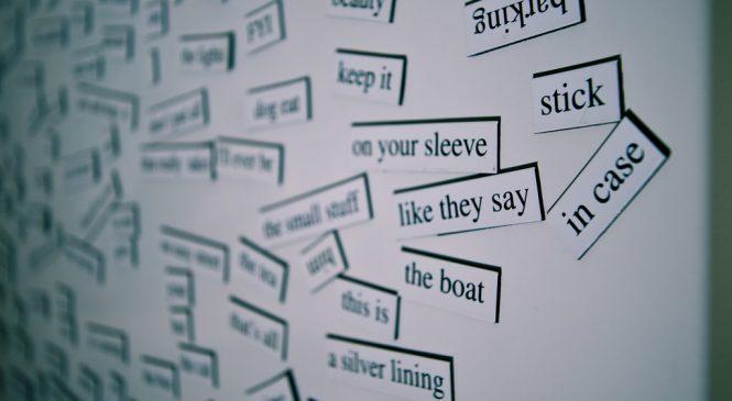 英文單字變化多 掌握片語讓你不再黑人問號!