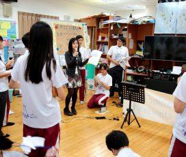 打造沒有圍牆的教室 興大附讓學生參與「跨國視訊」體驗國際環境