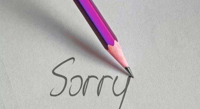 學英文/除了sorry 還可以怎樣道歉?