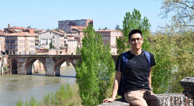 他前進歐洲航空城 一圓留學夢