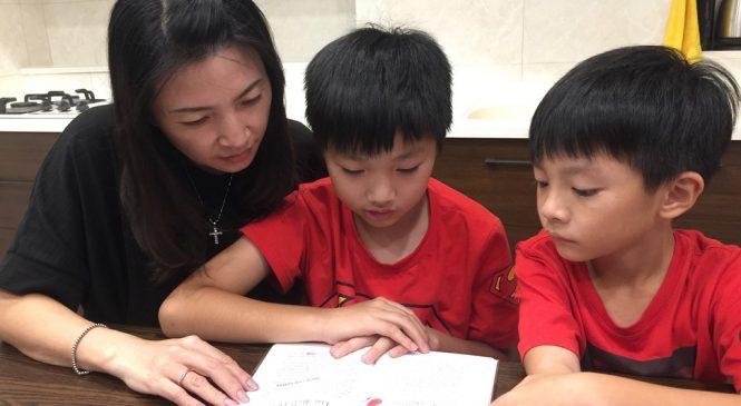 從親子到兄弟共讀 學英語沒有負擔