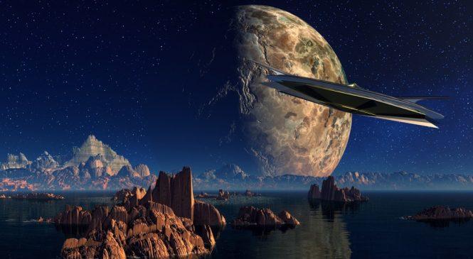 雪茄狀神秘星體 可能是外星飛行船