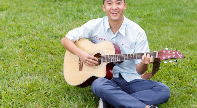中一中生結合影音興趣練英語 學測滿級分錄取香港名校