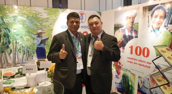 用種苗行銷台灣 和全世界農民搏感情