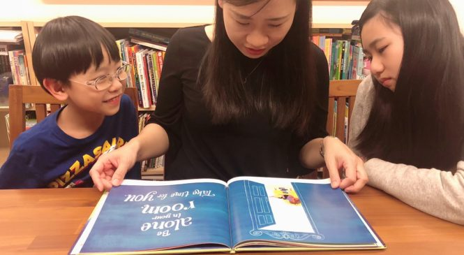 藉由陪伴 養成孩子對英文的好感