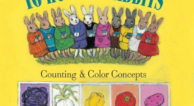 共讀繪本10 Hungry Rabbits,開啟孩子對英語及閱讀的興趣