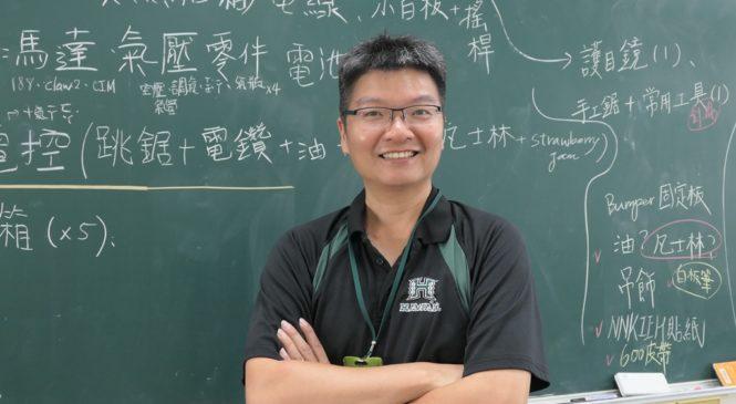 南科實中物理老師蔡汶鴻 帶高中生自造機器人、站上國際創客舞台
