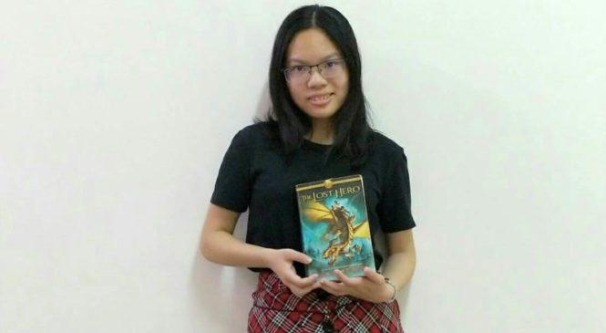 看卡通、勤閱讀 立志用英語寫小說、認識世界