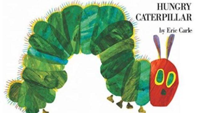 親子共讀經典繪本,跟著綠毛蟲一起學英文