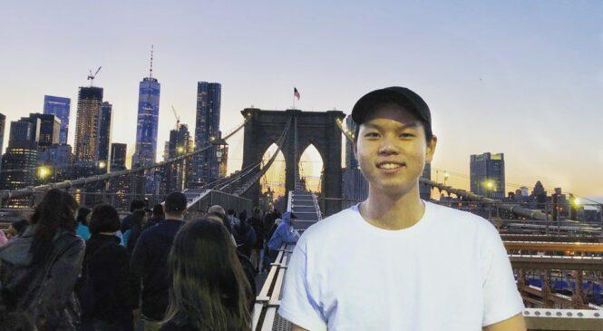 兼顧學業及打球 籃球好手紀晴硯進紐約大學追夢