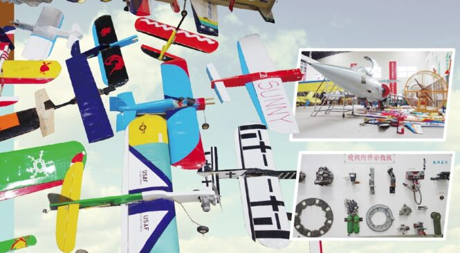 【鍛鍊英語力,高一必考TOEIC Bridge】大興高中飛修科為飛行夢鋪路!