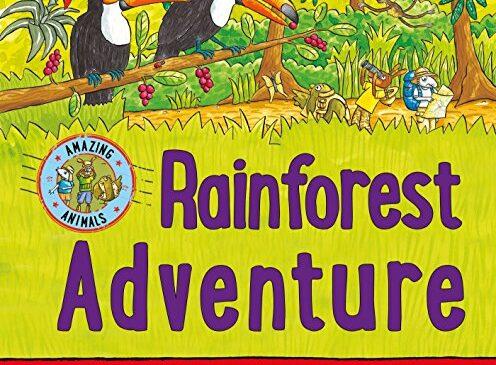 從繪本Rainforest Adventure帶孩子一起認識雨林