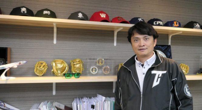 中職秘書長馮勝賢勤練英語 將台灣職棒推向國際