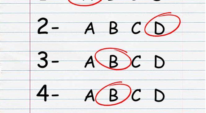 TOEFL Primary題型介紹
