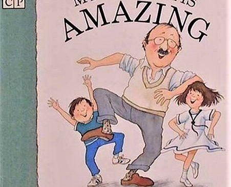認識大人小孩都愛的萬事通爺爺,讀溫馨繪本兼學英文