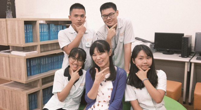 英語加地理、化學跨科學習,僑泰中學以多元選修培養學生口說力