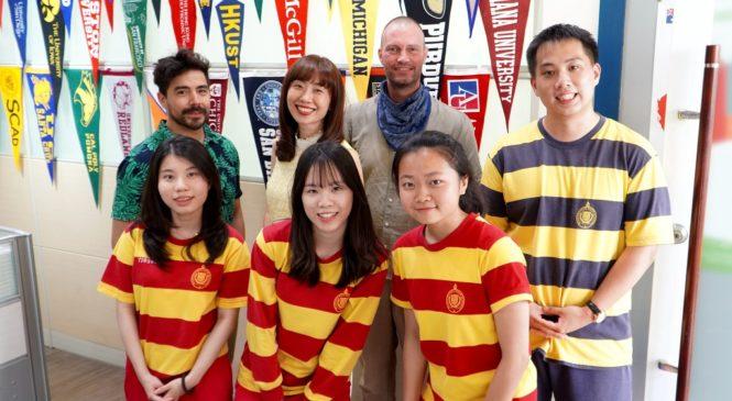 成為學生前進國際的最有力後盾,華盛頓中學主任林佳佳陪孩子發現自我
