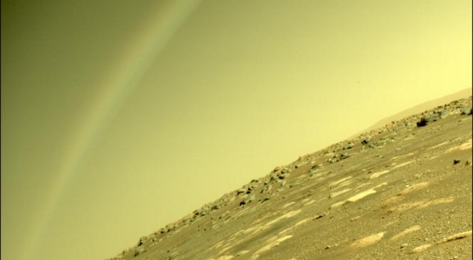 彩虹現身火星?!跟著NASA毅力號學多益英文