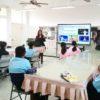 金門烈嶼國中引進學伴說英語 啟發學生的學習熱情