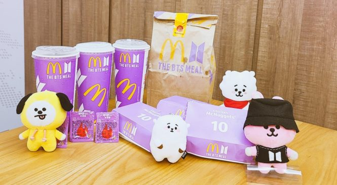 The BTS Meal你吃了嗎?跟著防彈少年團學多益字