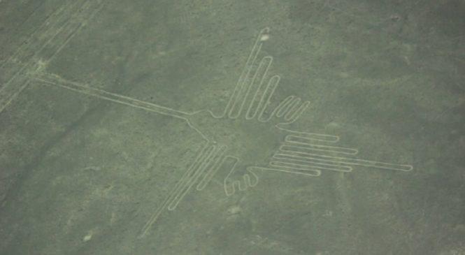 祕魯「納斯卡線」新發現 2000年前巨貓圖騰現身